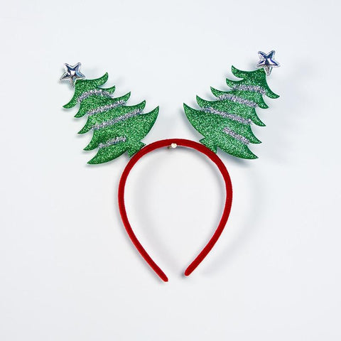 Image of Christmas Girls Headband Headband Marks'Marketplace Olive