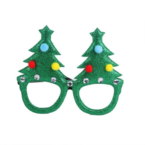 Christmas Glasses & Headband & Photo Frame Props Decoration Marks'Marketplace Mint Green