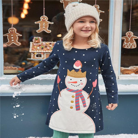 Christmas Party Dress Children Clothing Gifts Marks'Marketplace Gray 4T