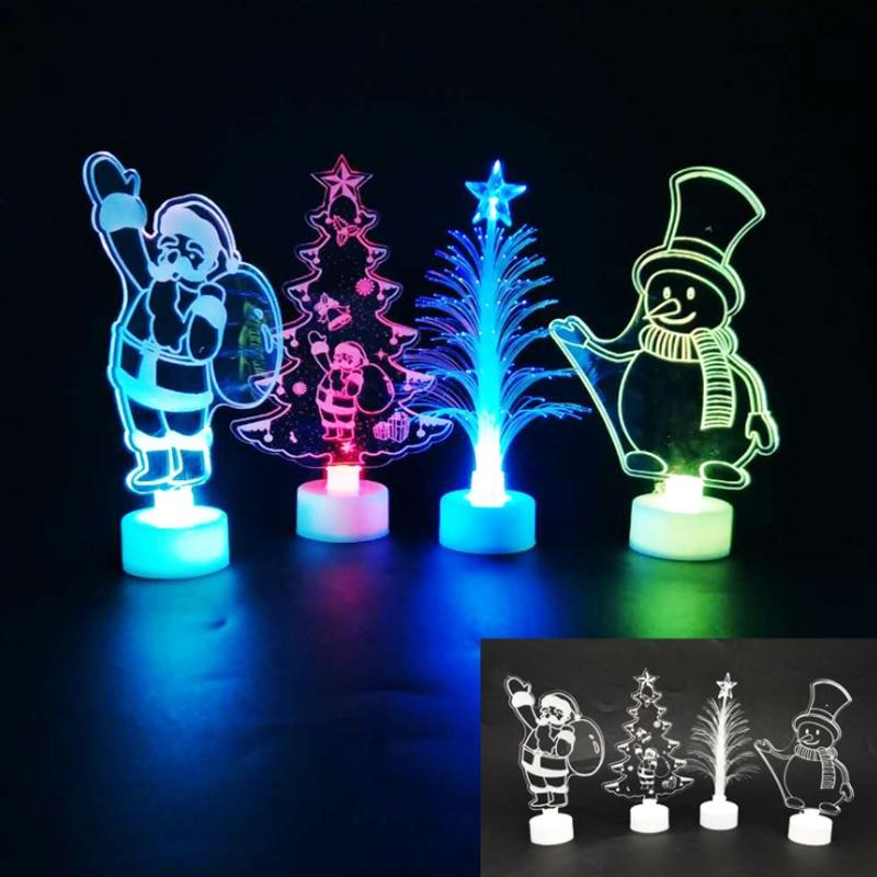 Christmas Tree Decorations Colorful Led Lights Lights Marks'Marketplace