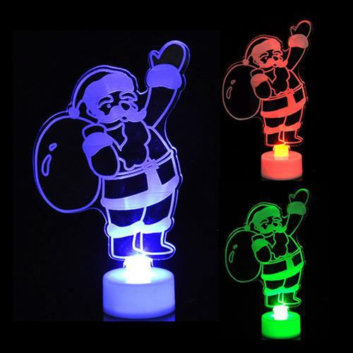 Christmas Tree Decorations Colorful Led Lights Lights Marks'Marketplace Fluorescence Yellow