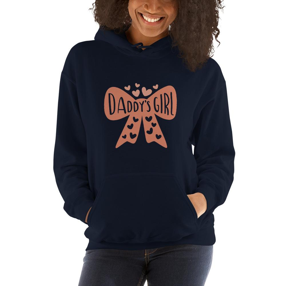 Daddy's girl Women Hooded Sweatshirt Marks'Marketplace Navy S