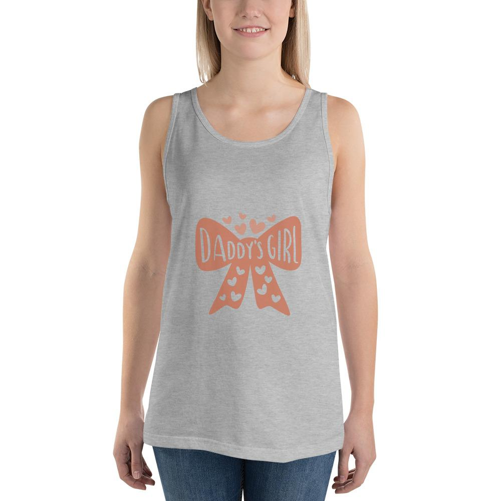 Daddy's girl Women Tank Top Marks'Marketplace Athletic Heather XS
