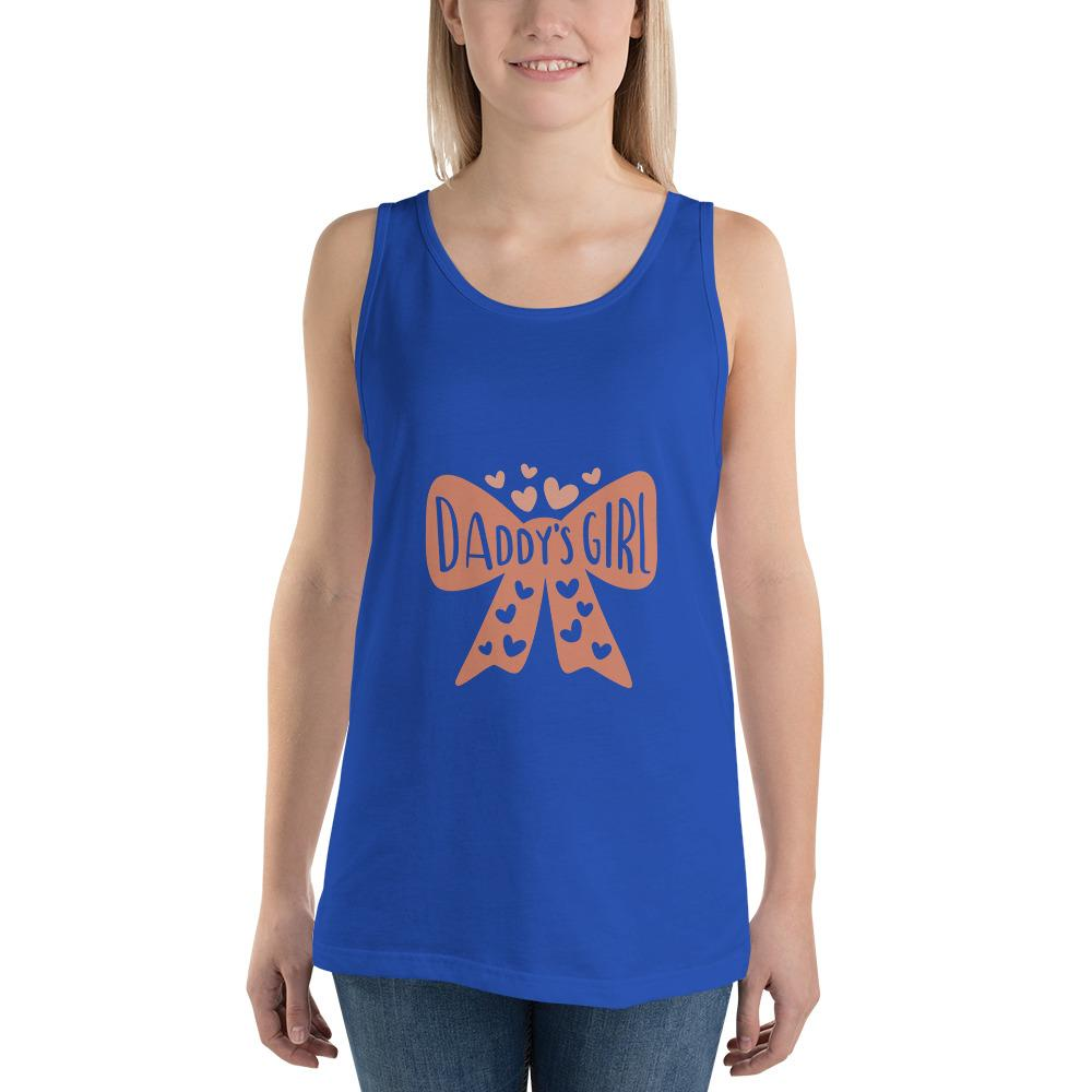 Daddy's girl Women Tank Top Marks'Marketplace True Royal XS