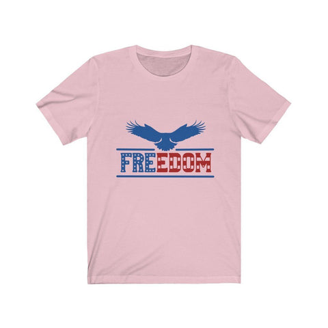 Image of Freedom Tee T-Shirt Printify Pink XS