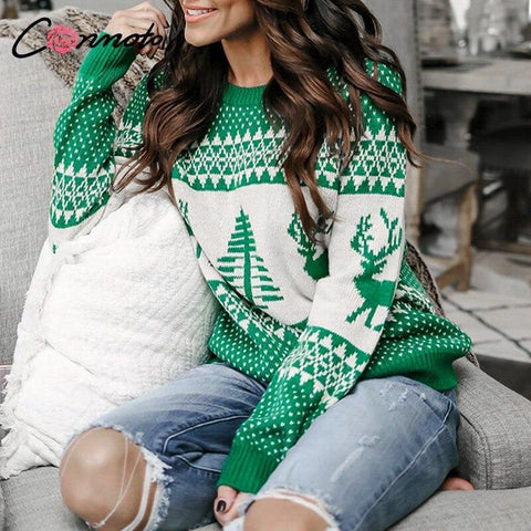 Knitted Pullovers Christmas Sweater Marks'Marketplace