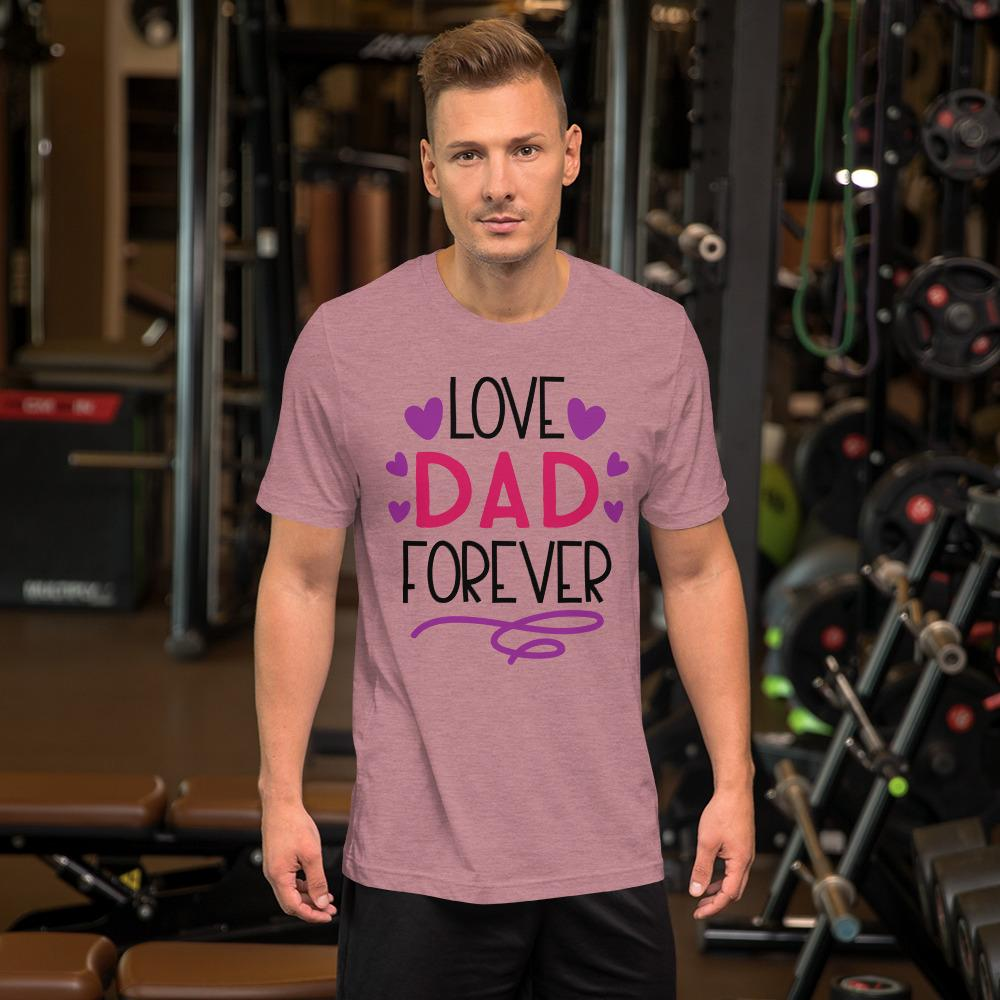 Love Dad Forever Marks'Marketplace Heather Orchid M