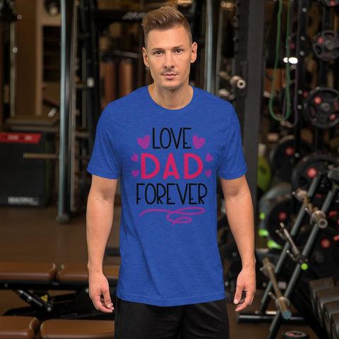 Image of Love Dad Forever Marks'Marketplace Heather True Royal M