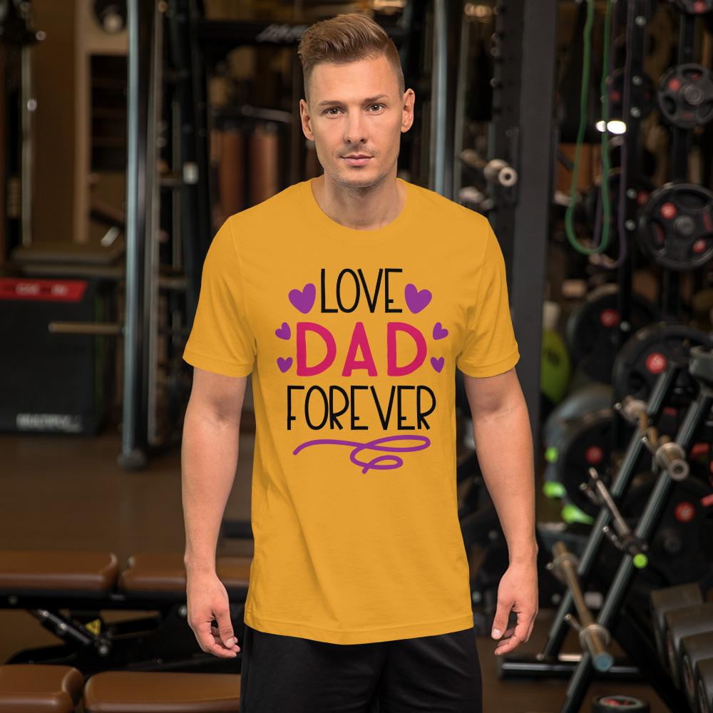 Love Dad Forever Marks'Marketplace Mustard M
