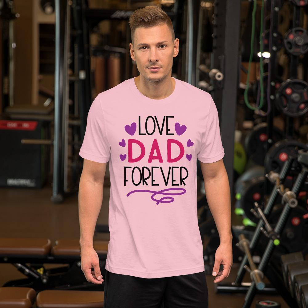 Love Dad Forever Marks'Marketplace Pink M