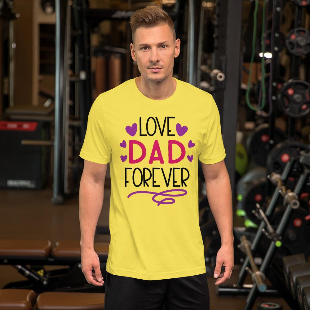 Love Dad Forever Marks'Marketplace Yellow M