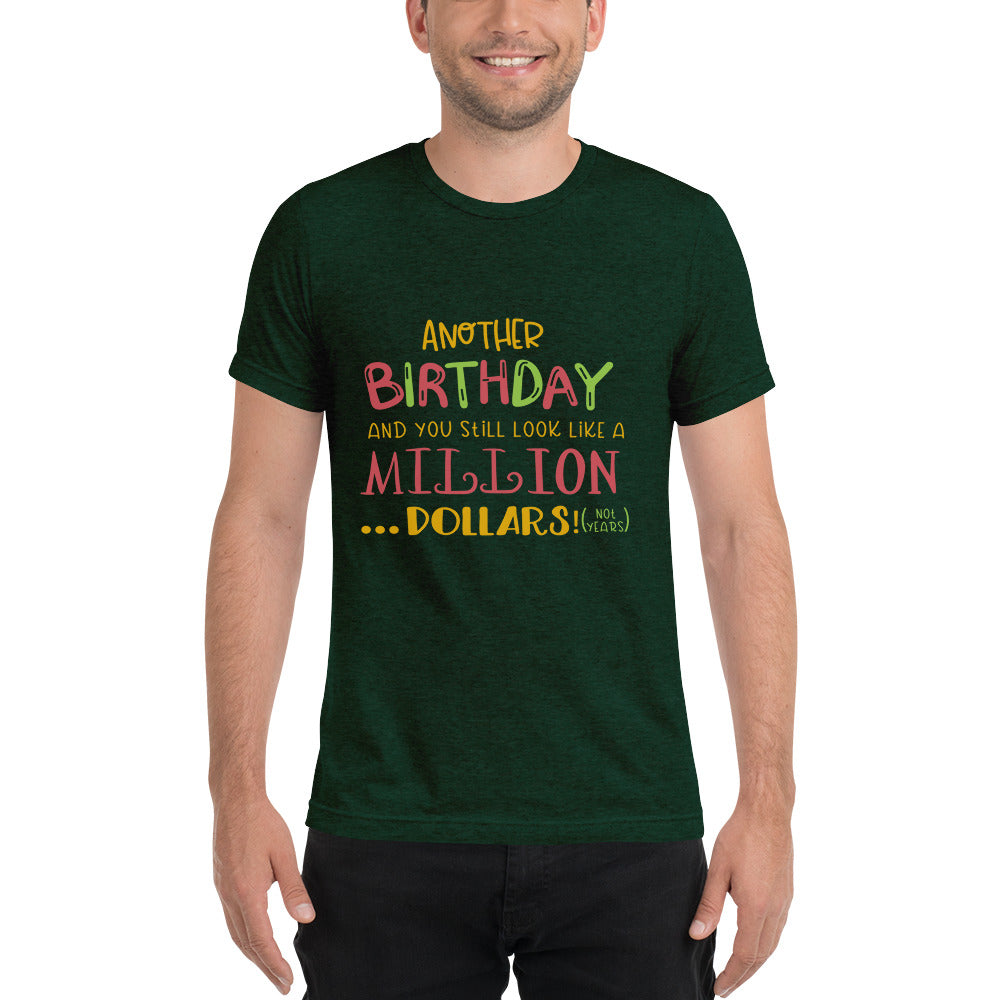 Another Birthday Short sleeve t-shirt-Marks'Marketplace