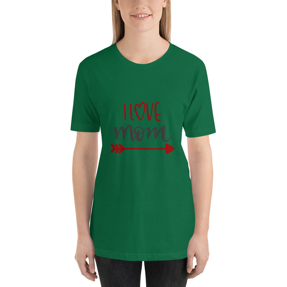 I love mom Women Short-Sleeve T-Shirt-Marks'Marketplace