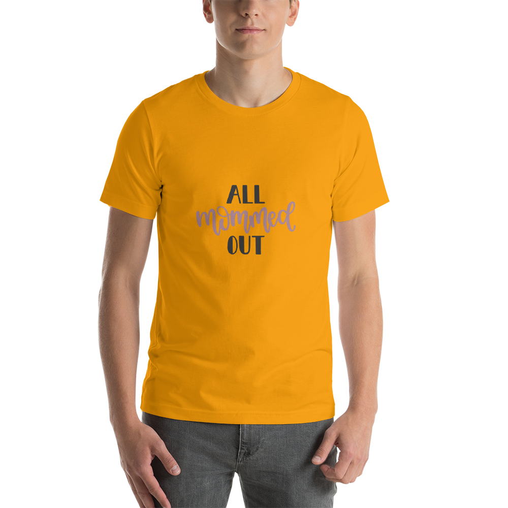 All mommed out Men Short-Sleeve T-Shirt-Marks'Marketplace