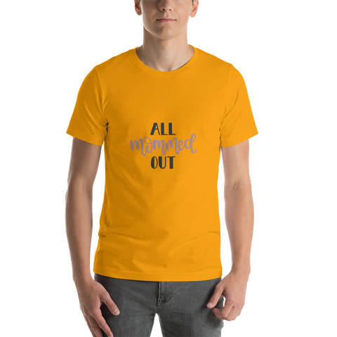 Image of All mommed out Men Short-Sleeve T-Shirt-Marks'Marketplace