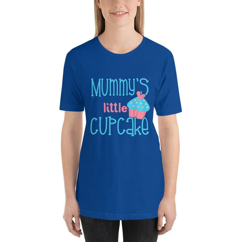 Mummys Little Cupcake Short-Sleeve T-Shirt Marks'Marketplace True Royal S