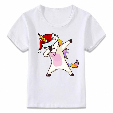 Santa Dabbing T Shirt Clothes for Kids T-shirt Marks'Marketplace oal080a 4T