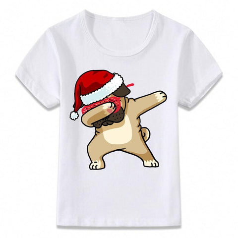 Santa Dabbing T Shirt Clothes for Kids T-shirt Marks'Marketplace oal080b 9T