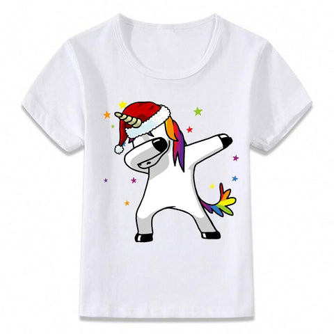 Santa Dabbing T Shirt Clothes for Kids T-shirt Marks'Marketplace oal080f 9T