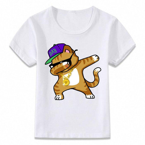 Santa Dabbing T Shirt Clothes for Kids T-shirt Marks'Marketplace oal080g 3T