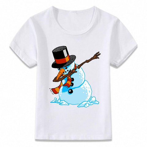 Santa Dabbing T Shirt Clothes for Kids T-shirt Marks'Marketplace oal080i 4T