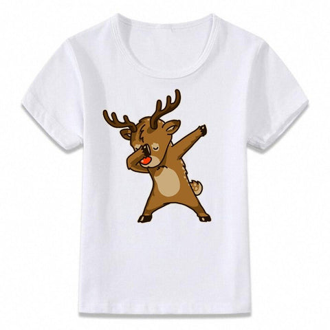 Santa Dabbing T Shirt Clothes for Kids T-shirt Marks'Marketplace oal080j 9T