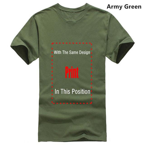 Image of Scar I'm Surrounded by Idiots T-shirt Marks'Marketplace Men army green XL