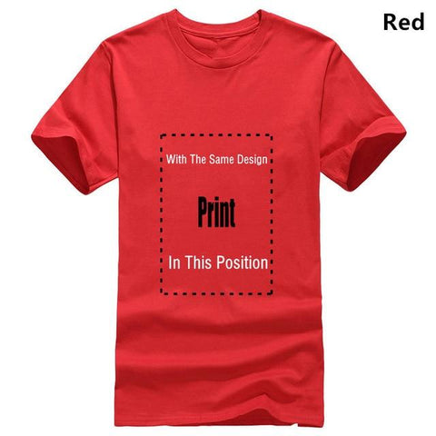Image of Scar I'm Surrounded by Idiots T-shirt Marks'Marketplace Men red XL