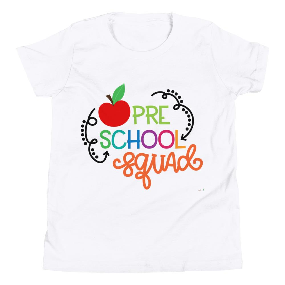 School Squad Short Sleeve kids T-Shirt Marks'Marketplace White S