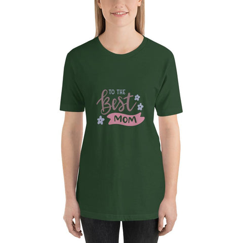 Image of To the best mom Women Short-Sleeve T-Shirt Marks'Marketplace Forest S