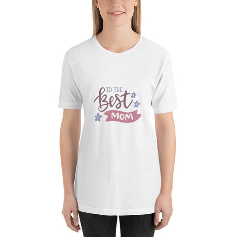 Image of To the best mom Women Short-Sleeve T-Shirt Marks'Marketplace White XS