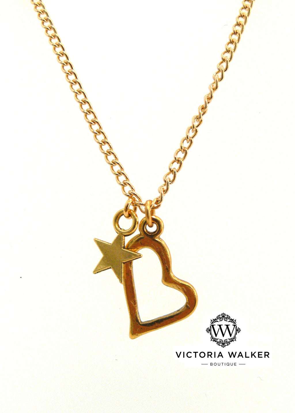 Heart & star Necklace