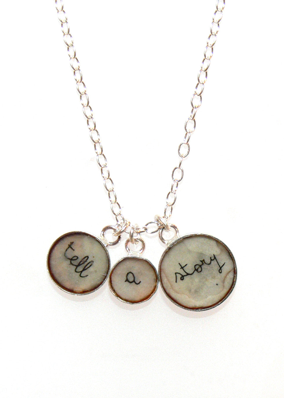 Tell a story necklace