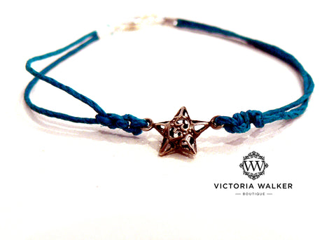 Friendship star bracelet