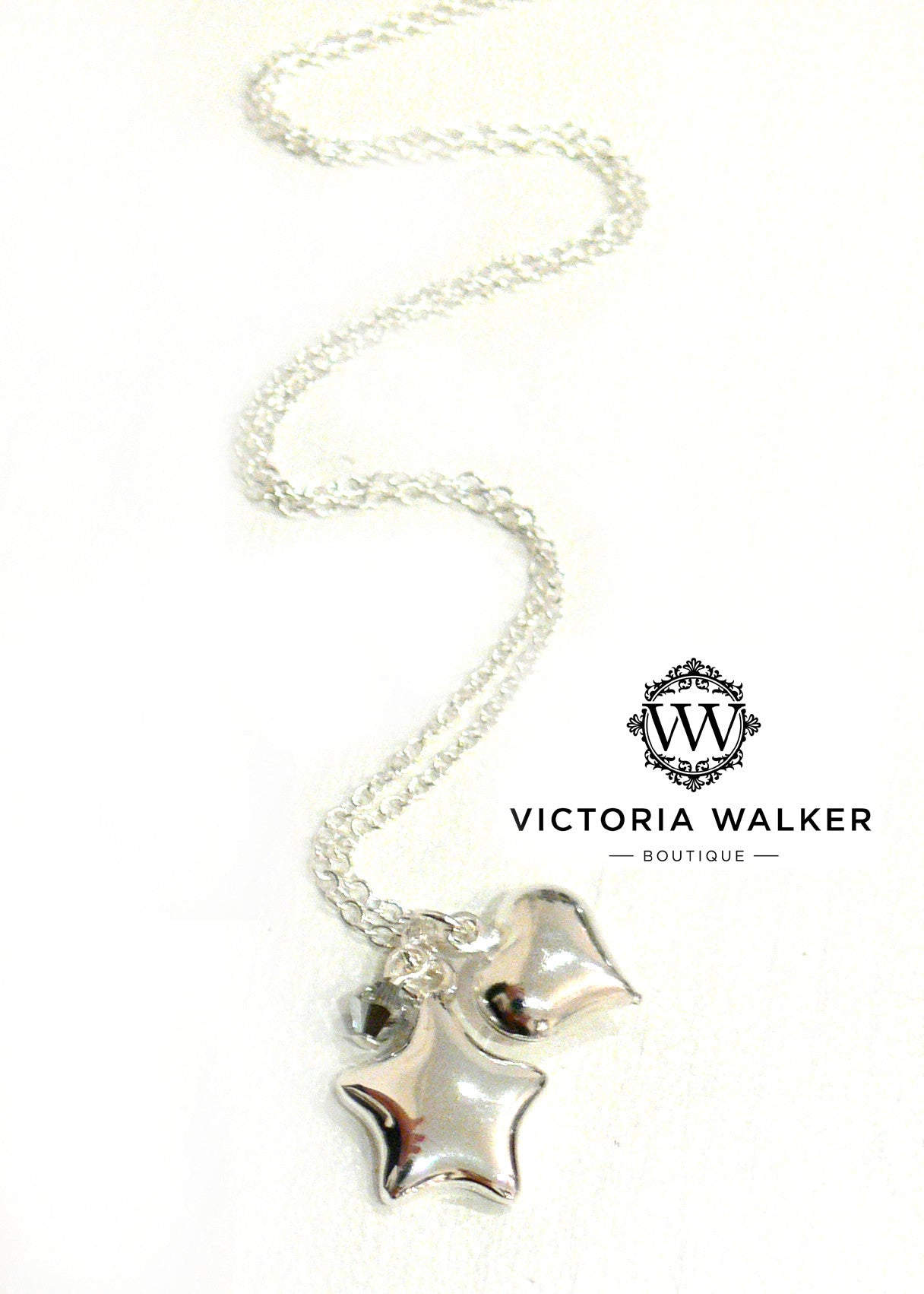 Stars & Hearts Necklace
