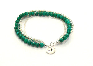Turquoise & Silver bracelet