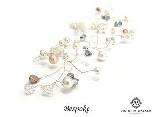 Vintage hair vine handcrafted by Victoria walker boutique