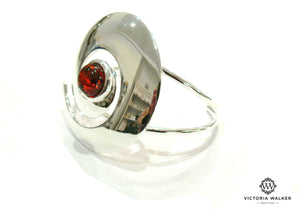Amber Swirl Bangle