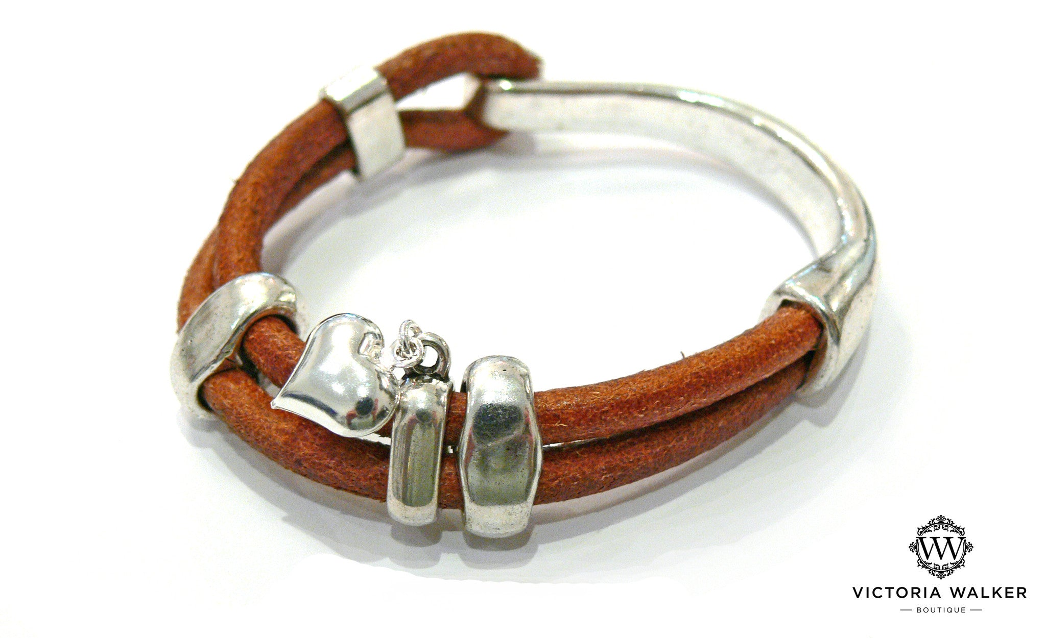 Double Strand Leather Bracelet