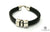 Licorice Leather Bracelet