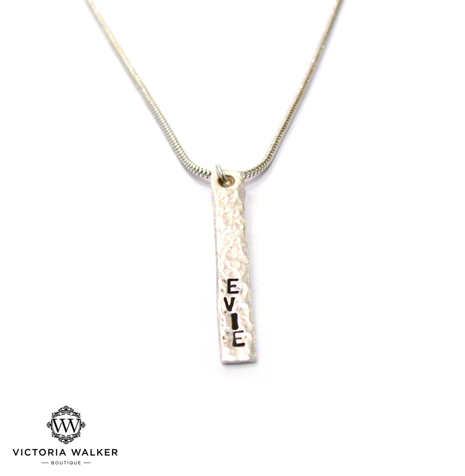 Bespoke Message Necklace