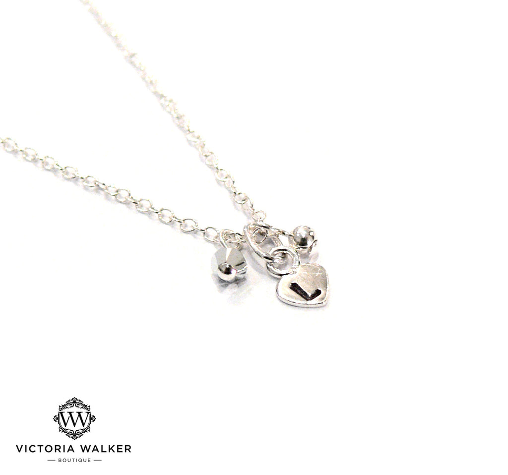 Bespoke Silver Heart Necklace