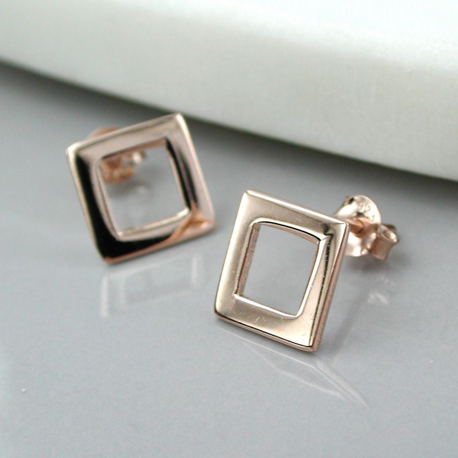 Square Outline Studs