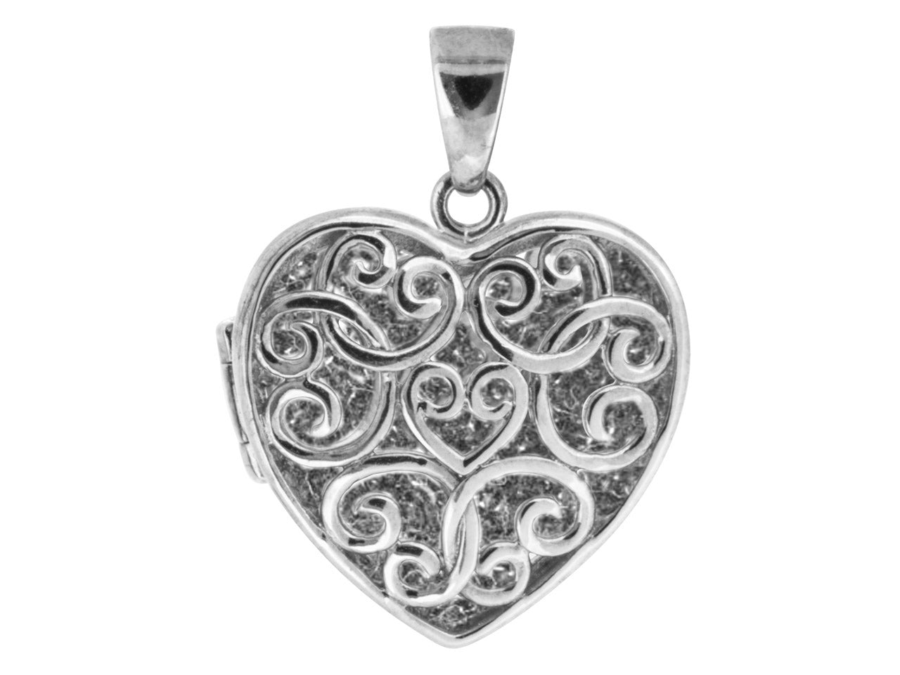 Ashes Filigree heart