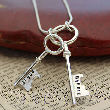 Double Key Pendant