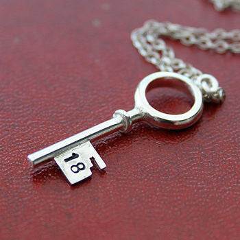 Single Key Pendant