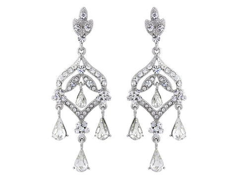 Romance drop earring