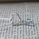 Heart shaped key Pendant