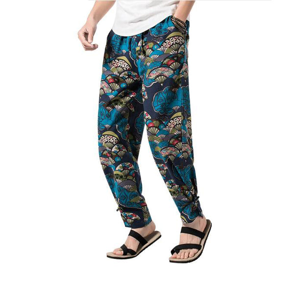 Casual Hawaiian Light Trousers