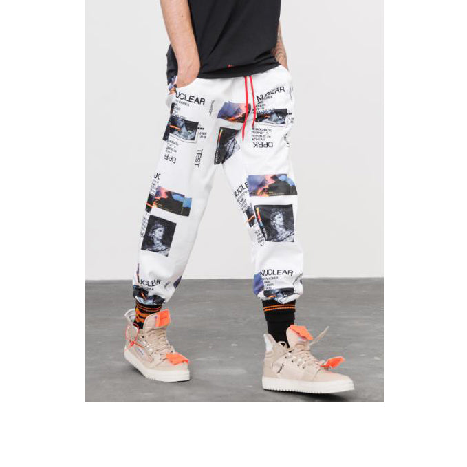 EGOIST SMITH Unisex Graphic Printed Joggers
